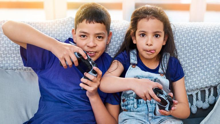children get involved in games